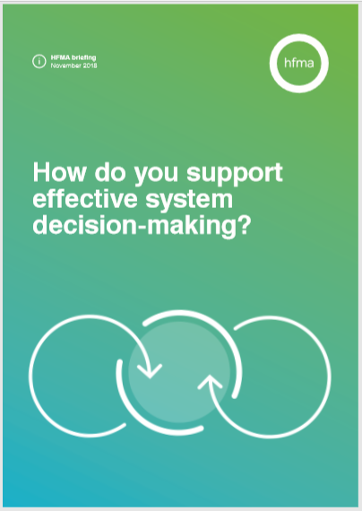 How do you support effective system decision-making?