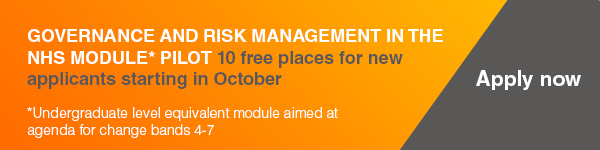 Governance & Risk Management skills pilot